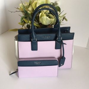 Kate spade Cameron Satchel and wallet
